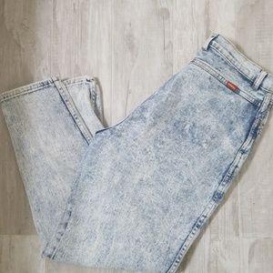 🌋Vintage🌋Jordache High Waisted Acid Wash Jeans